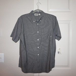 Vans short-sleeve button-up shirt - Grey - Small